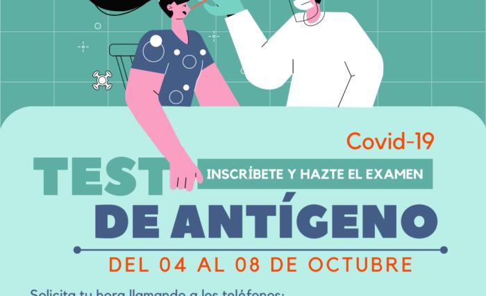 Campaña Test de Antígeno
